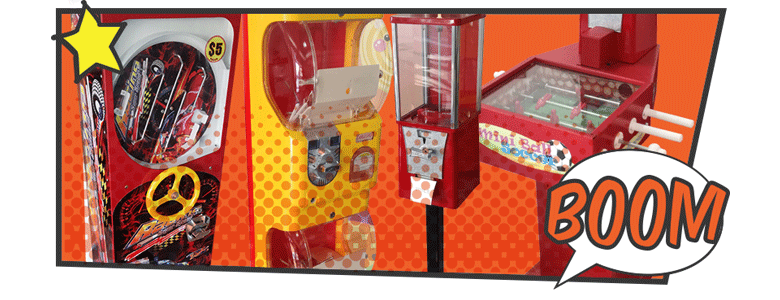 maquinas chicleras - vending machines